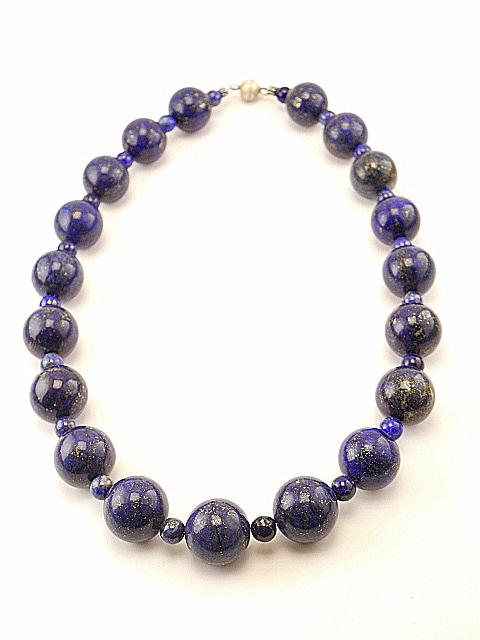 Lapis lazuli - Sterling sølv